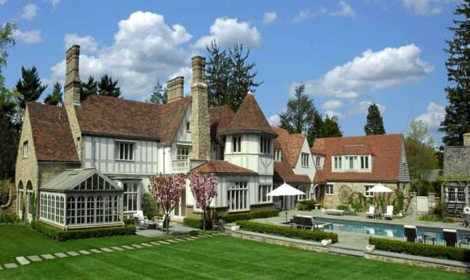 Square Foot English Tudor Revival Residence Features