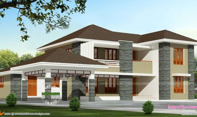 Square Foot House Kerala Home Design Floor Plans