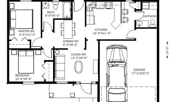 Square Foot House Plans Car
