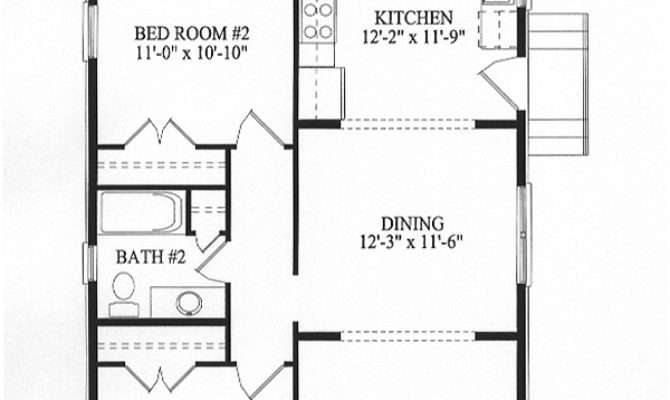 Square Foot House Plans Feet Floor