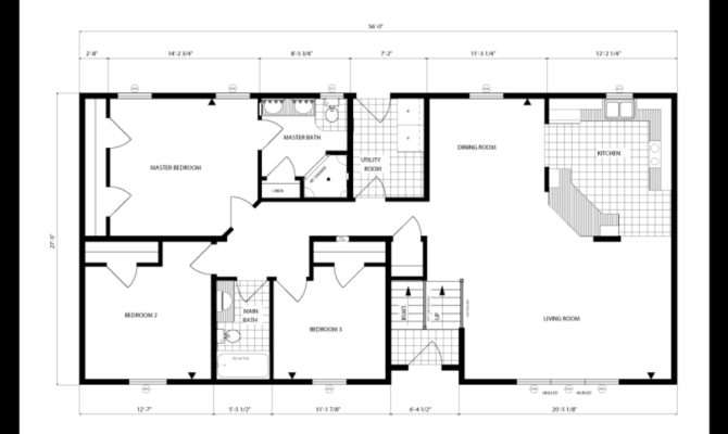 Square Foot Ranch House Plans Single Story