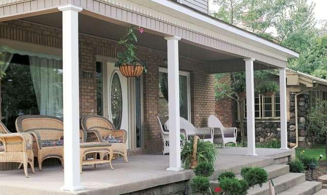 Square Porch Posts Columns Assume