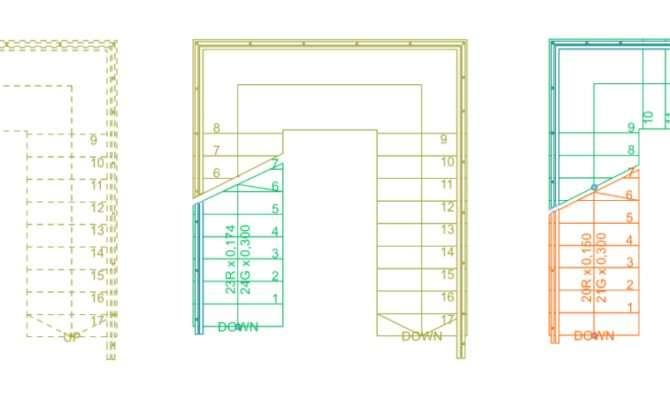 Stair Basics Editing Refining Floor Plan