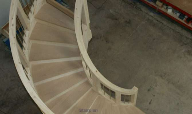 Stairplan Staircase Feature Geometric Circular