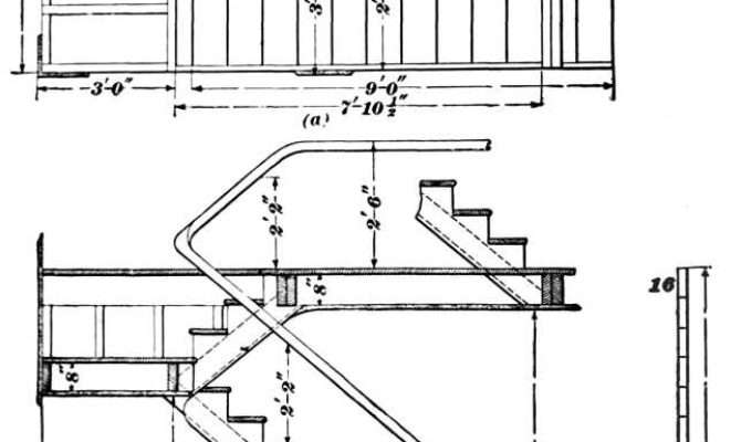 Stairway Design Construction Section
