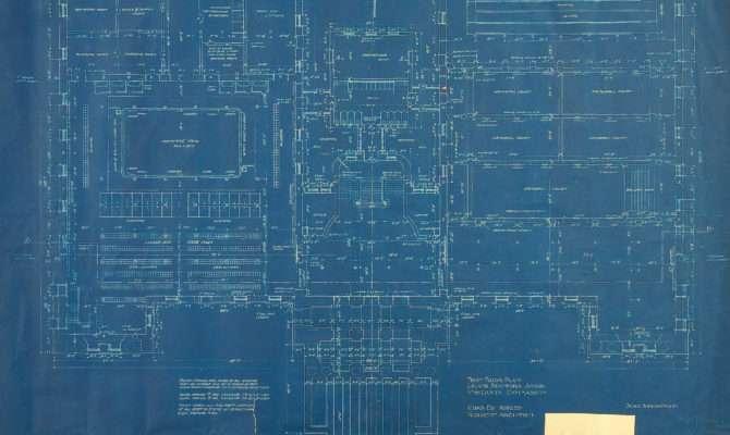 Stanford Gymnasium Dig Blue Print Floor Plans