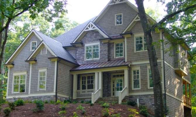 Stately Two Story Traditional Craftsman House Plan Alp