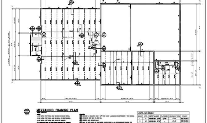 Steel Framing Plan