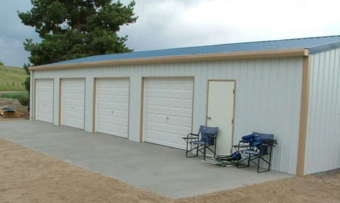 Steel Metal Car Garage Shop Building Kit Ebay
