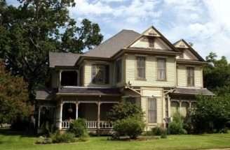 Steele House Stick Eastlake Victorian Style Navasota
