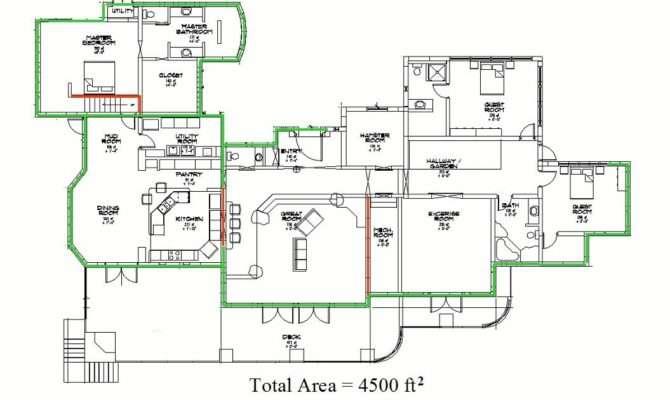 Steep Hillside Home Plans Floor