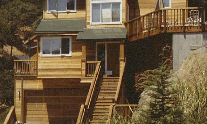 Steep Hillside Home Plans House Design