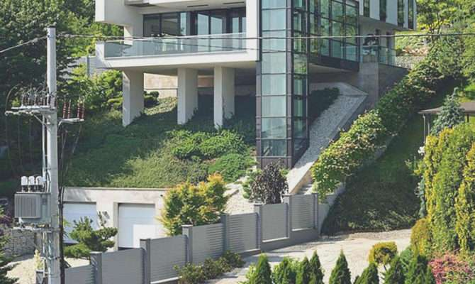 Steep Hillside House Plans Home Improvements