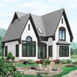 Steep Pitched Roof House Plans