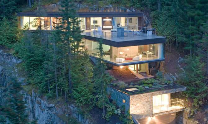 Steep Slope House Design Canada Most Beautiful Houses