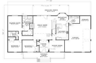 Stewart Place Cape Cod Home Plan House Plans More