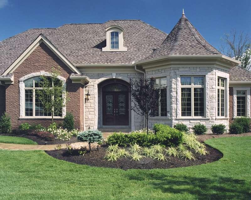 Stone Brick House Exteriors Amazing Designing Inspiration