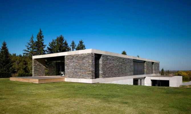 Stone House Design Modern Houses