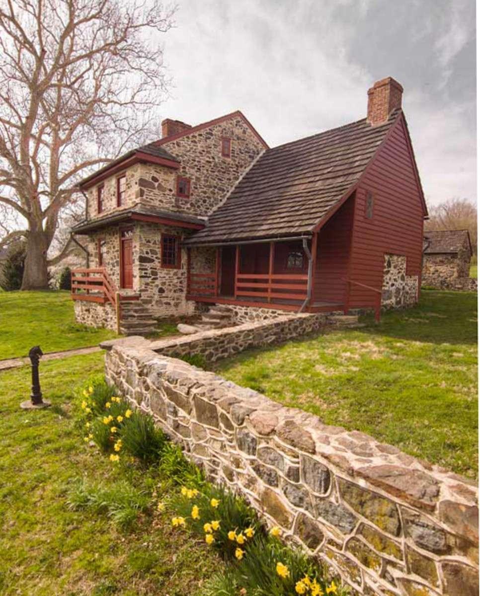 Stone Houses Eastern Pennsylvania Old House