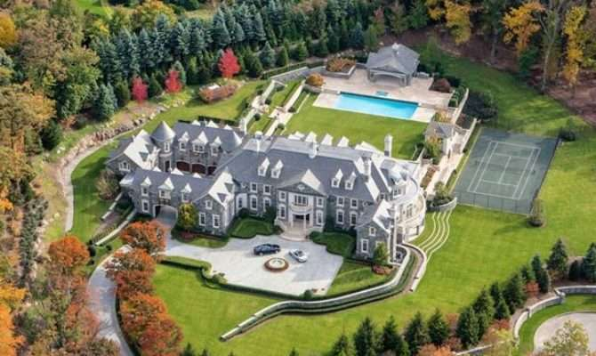 Stone Mansion Eating Real Estate