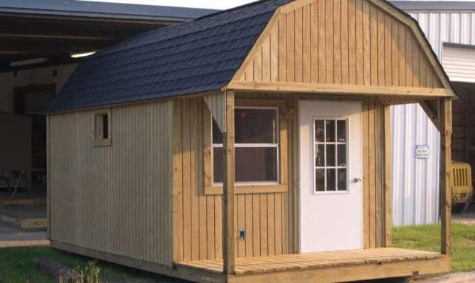 Storage Building Plans Constructing Wood