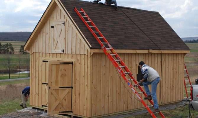 Storage Building Plans Woodideas