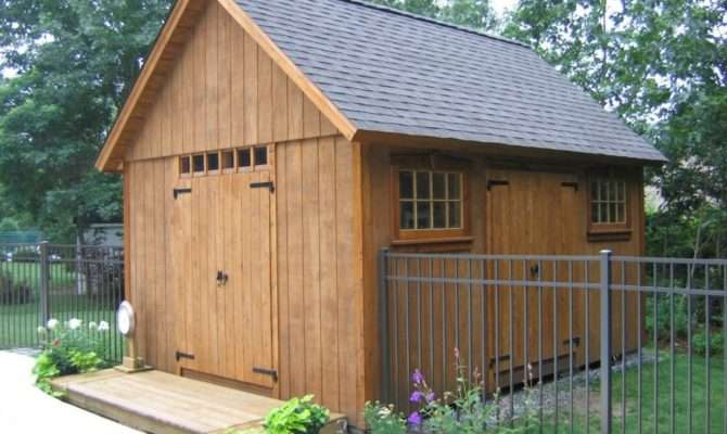 Storage Buildings Plans Build Shed