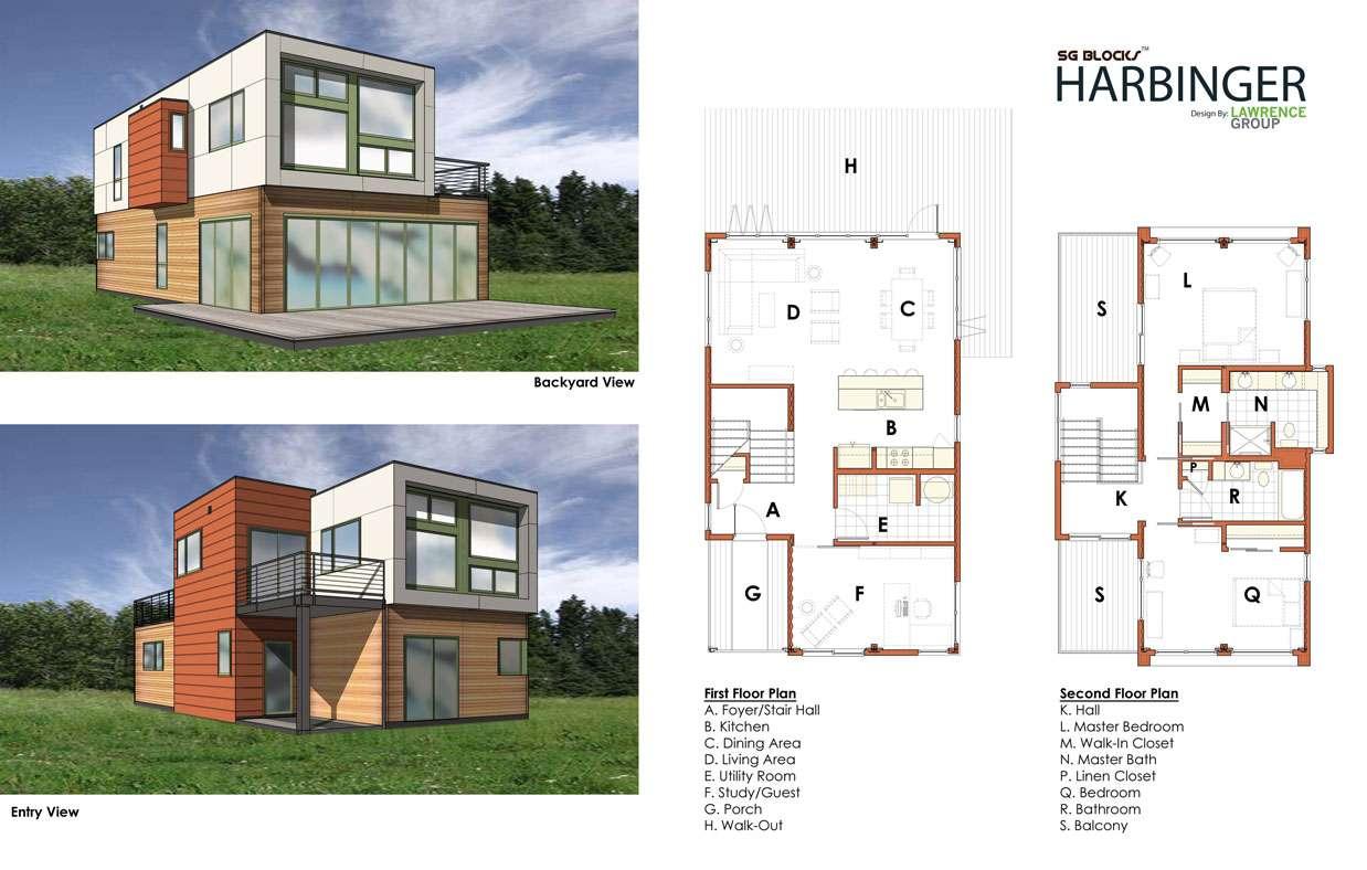 Storage House Plans Floor