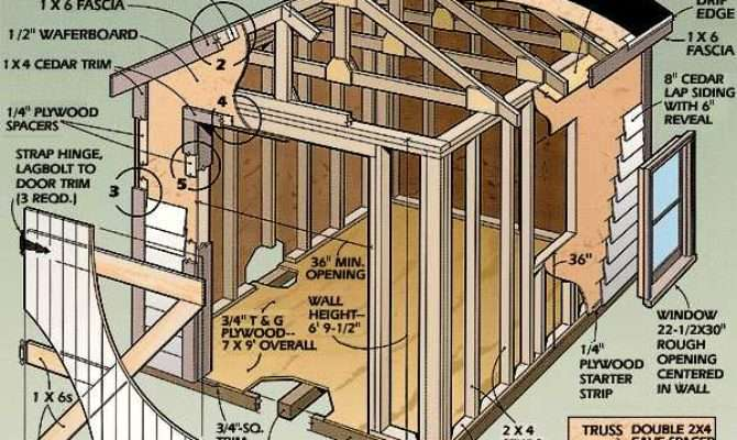 Storage Shed Plans Cool Deisgn