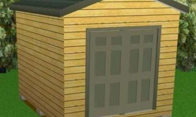 Storage Shed Plans Package Blueprints Material