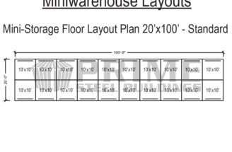 Storage Unit Building Plans Shelf Basement