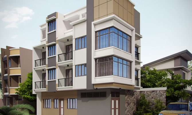 Storey Apartment Building Design Brucall