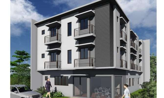 Storey Apartment Building Design Brucall