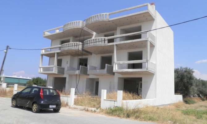 Storey Building Apartments Under Construction
