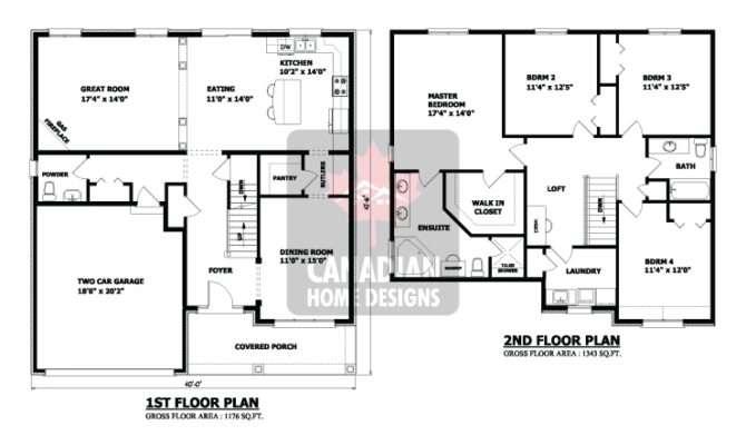 Storey House Designs Floor Plans