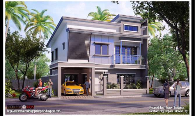 Storey House Floor Plans Philippines Base