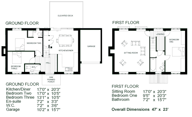 Storey House Plans Layout