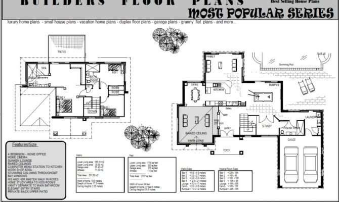 Storey House Plans Story Home Floor