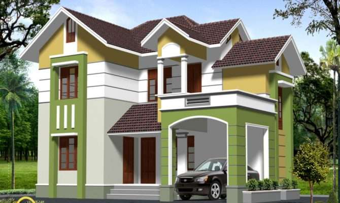 Storey Modern House Designs Brucall