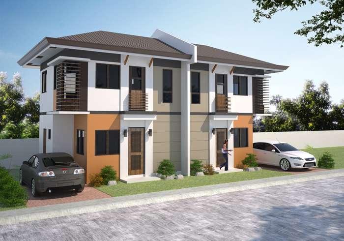 Storey Townhouse Design Philippines Joy Studio