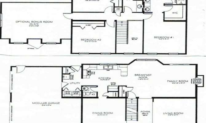 Story Bedroom House Plans Small Two Plan Mexzhouse