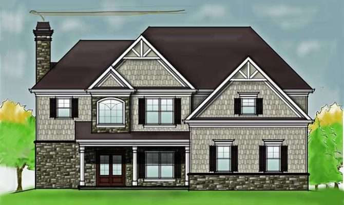Story Bedroom Rustic House Floor Plan Max Fulbright