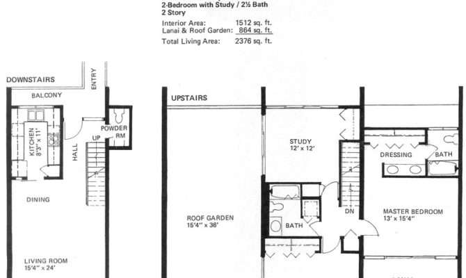Story Condo Floor Plans High End Two
