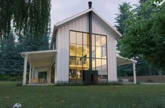 Story Craftsman Home Plans Simple Bedroom Open Floor House