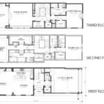 Story Dallas Townhouse Floor Plan Sale