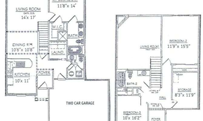 Story House Floor Plans Basement Unique Bedrooms