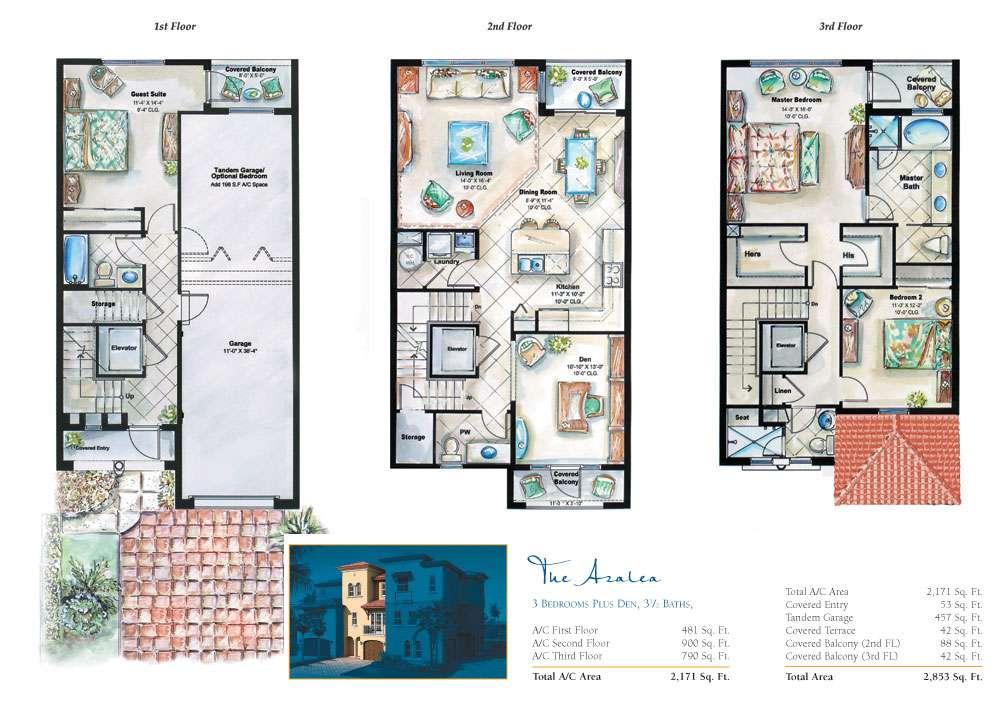 Story House Floor Plans
