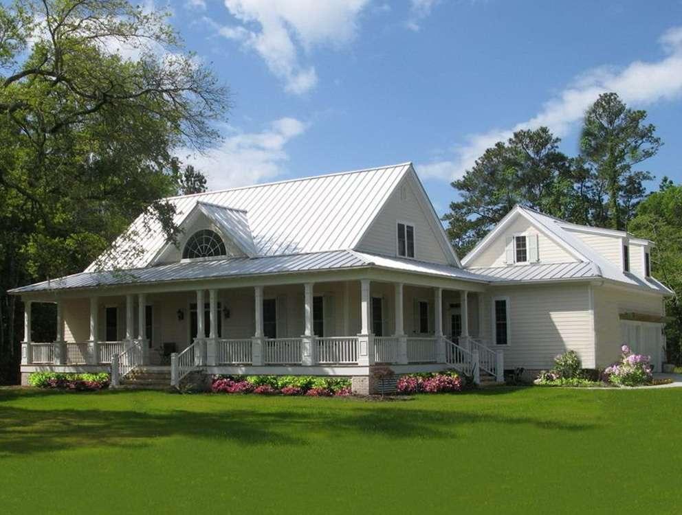 Story House Plans Front Porch Home Design Ideas