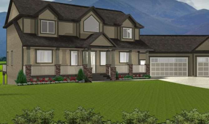 Story House Plans Walkout Basement