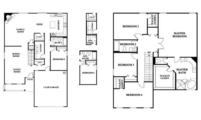 Story House Plans Without Garage